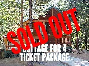 Cottage for 4 ticket package sold out